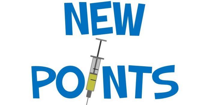 Logo for New Points Syringe service.